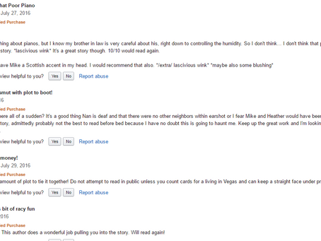 Hot For Heather getting some great reviews on Amazon!