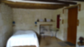 St Pierre en vaux  (49) troglo gite ( DS