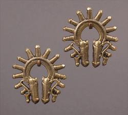 Batak earring pair