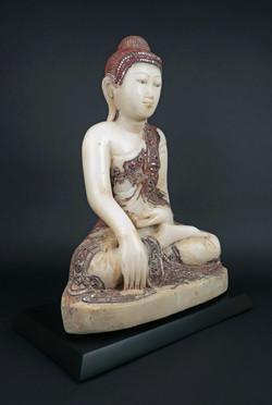 Mandalay marble Buddha