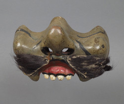 Small orator's mask