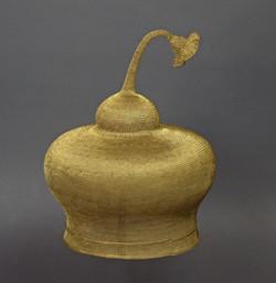 Handwoven Wire Folk Hat