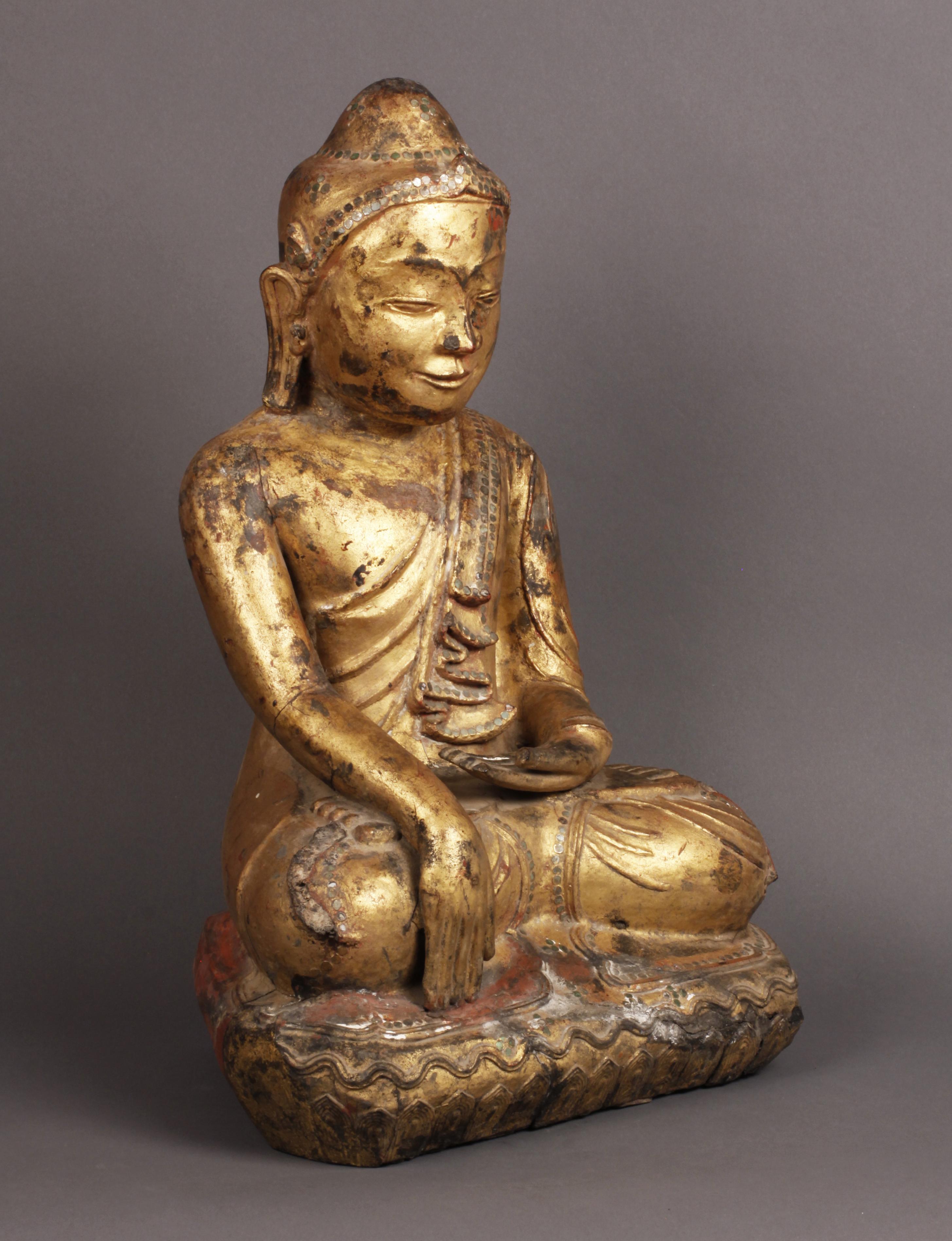 Dry Lacquer Buddha