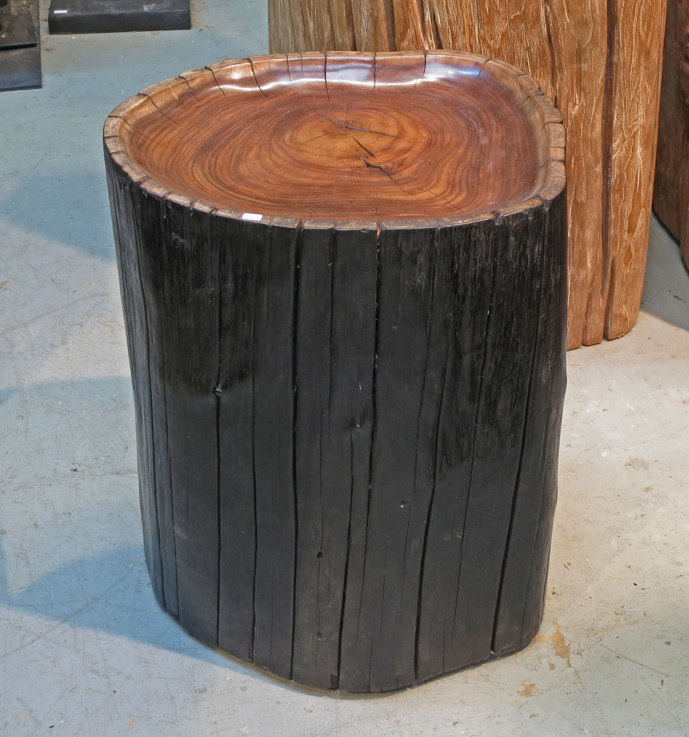 Sono wood side table