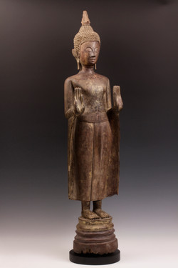 Fine Standing Lao Buddha
