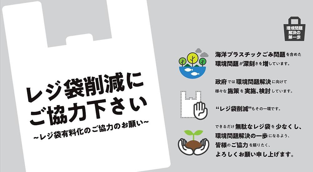 レジ袋有料化2020年7月1日スタート
