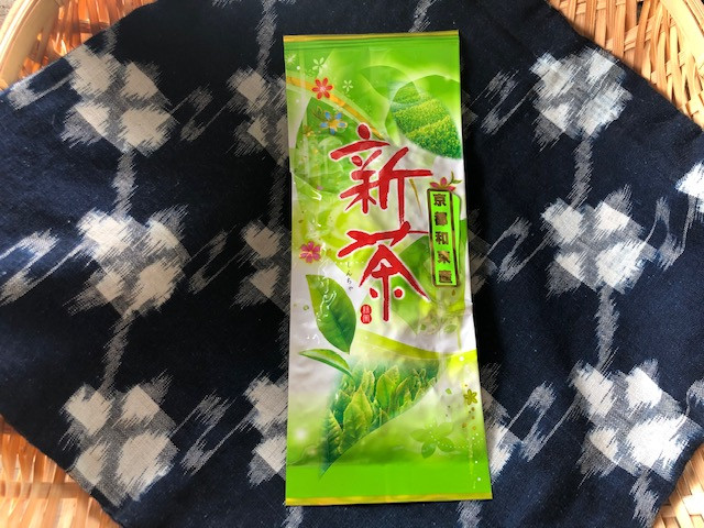 八十八夜にとれた和束の新茶