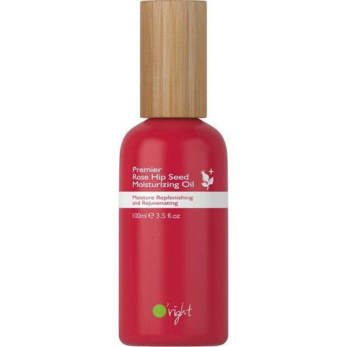 O'right Premier Rose Hip Seed Moisturizing Oil 100ml. Natuurlijke en gezonde haarverzorging, vegan en glutenvrij. haarolie