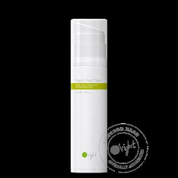 O'right Yogurt Hair Mask 100ml. Natuurlijke en gezonde haarverzorging, vegan en glutenvrij.