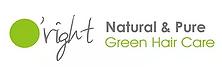logo o'right natural pure green haircare natuurlijke haarverzorgingsproducten