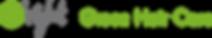 logo van oright green hair care natuurlijke haarproduten. werelds groenste shampoo verkrijgbaar bij la bazaar du haar