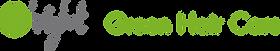 logo van O'right green haircare. De natuurlijke en gezonde haarverzorgingsproducten van O'right.
