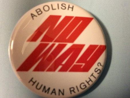 Abolish Human Rights - no way!