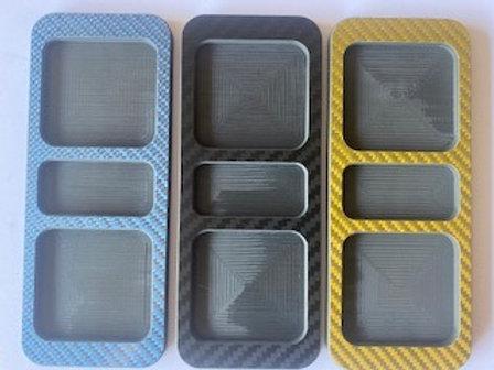 Parts trays - carbon Fiber