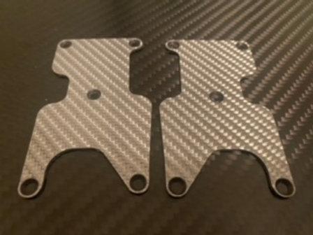AE Rc8 3.2 Buggy Rear Arm Insert