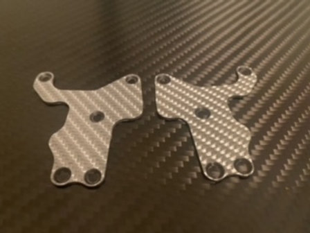 AE Rc8 3.2 Buggy Lower Front Arm Insert