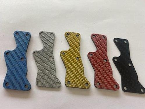 8IGHT X 2.0mm FRONT carbon fiber arm insert - Multiple colors