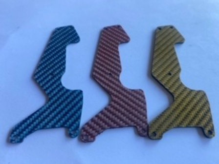 MUGEN MBX8T 1.2mm- Front Arm Inserts-CF
