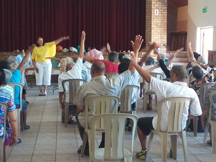Program of Active and healthy ageing in Cape Town, South Africa