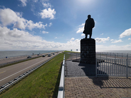 The Frisians will renovate the 32 km Afsluitdijk to create a Fish Migration River..