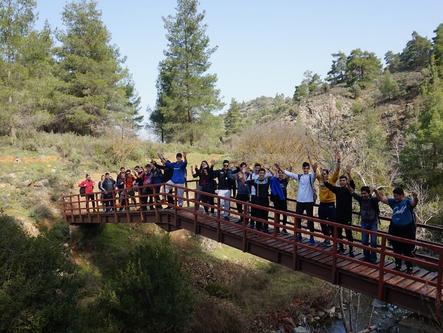 Troodos mountain school fileld trip