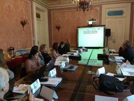 Presenting SUSTAIN in Portugal