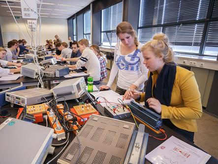 Practicum for school pupils at University of Groningen