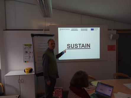 Presenting SUSTAIN in Bavaria