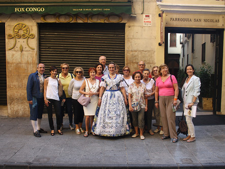 Grupo Tarde. Tourism for all. Elderly people