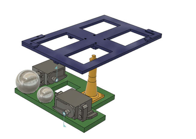 CAD model, minus some components