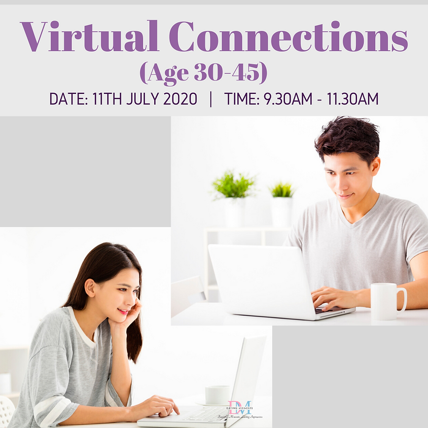 Virtual Speed-Dating Event (Age 30-45)