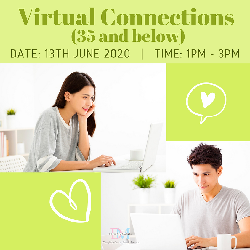 LAST SLOT FOR LADIES! Virtual Connections (35 and Below)