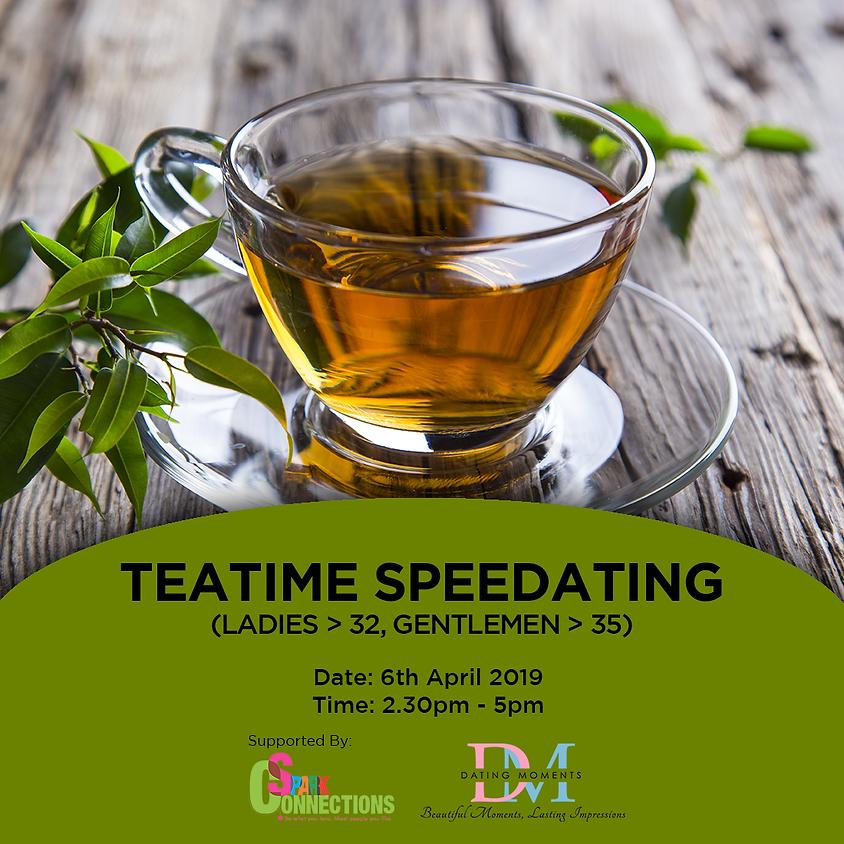 Teatime Speedating (Ladies < 32, Gentlemen < 35) (50% OFF!)1