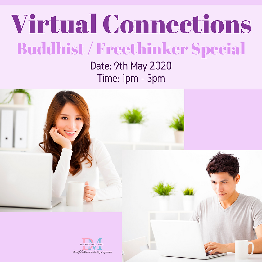 GENTS FULL! Virtual Speed-Dating Event (Buddhist / Freethinker Edition)
