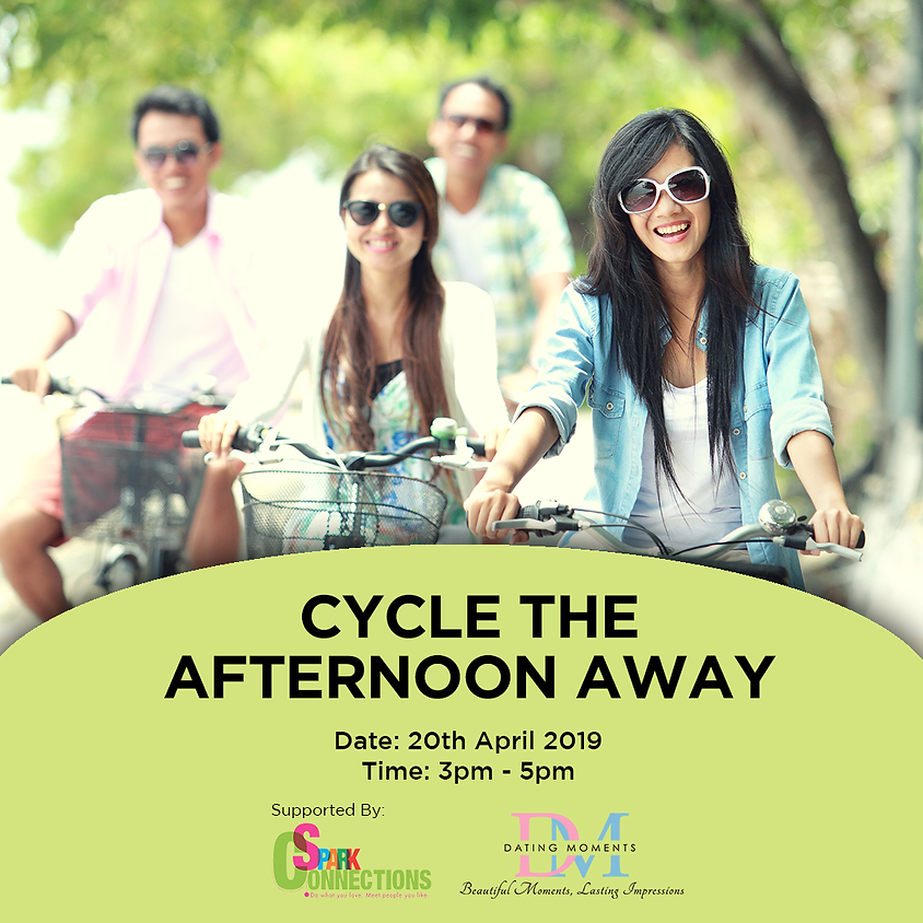 (CALLING FOR LADIES!) Cycle the Afternoon Away (50% OFF!)
