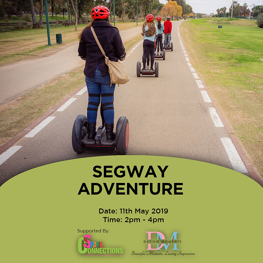(CALLING FOR GENTS!) Segway Adventure (50% OFF!)