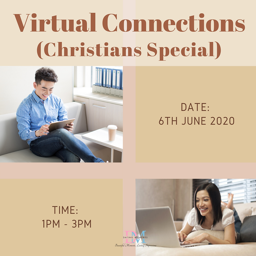 LAST SLOT FOR GENTS! Virtual Speed-Dating Event (Christian/Catholic Special)