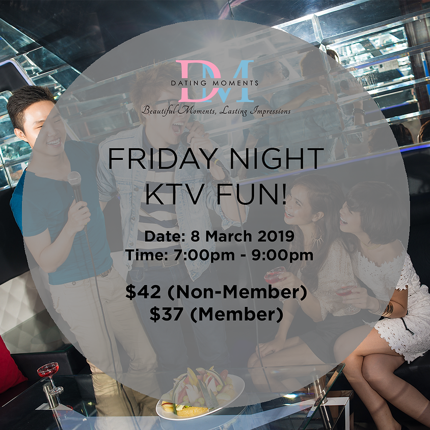 (CALLING FOR LADIES!) Friday Night KTV Fun!