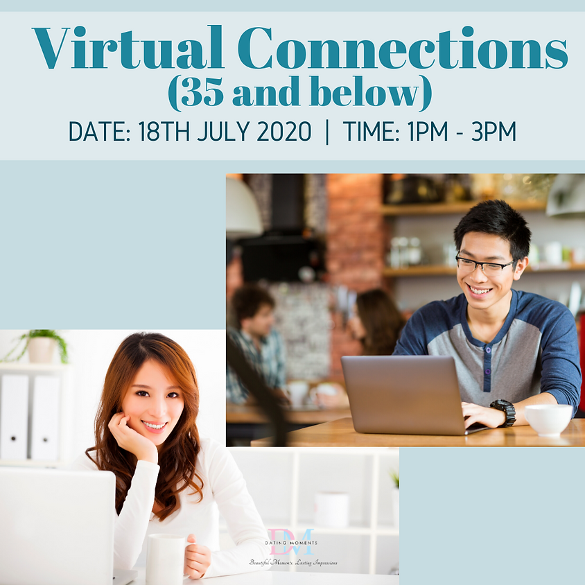 LAST 2 SLOTS FOR LADIES! Virtual Connections (35 and Below)
