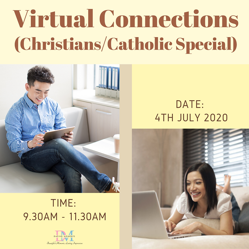 Virtual Speed-Dating Event (Christian/Catholic Special)