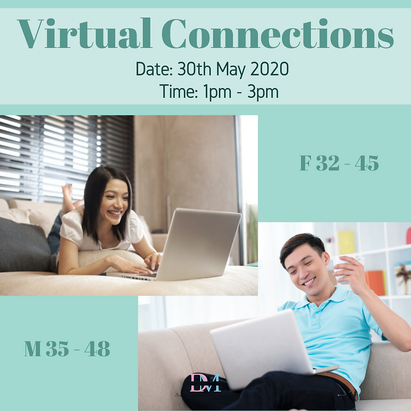 Virtual Speed-Dating Event (F 32 - 45, M 35 - 48)