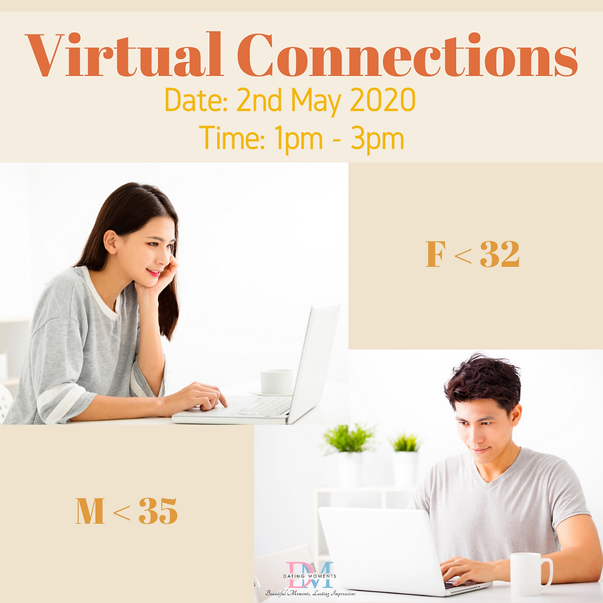 LAST 2 SLOTS FOR LADIES! Virtual Speed-Dating Event (F < 32, M < 35)