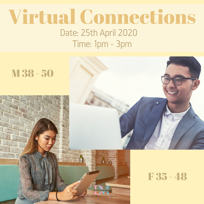 CALLING FOR GENTS! Virtual Speed-Dating Event (F 35 - 48, M 38 - 50)