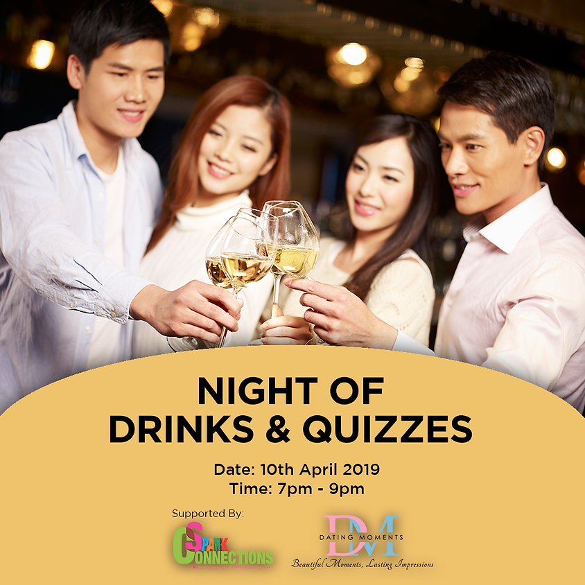 (CALLING FOR LADIES!) Night of Drinks and Quizzes! (50% OFF!)