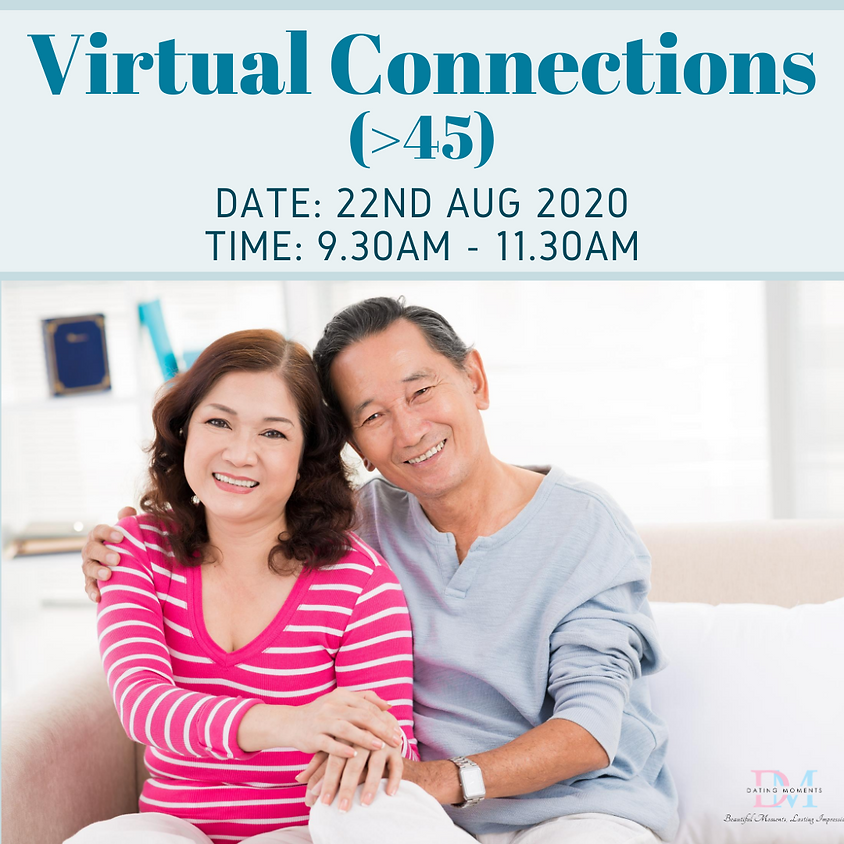 CALLING FOR GENTS! Virtual Speed-Dating Event (>45)