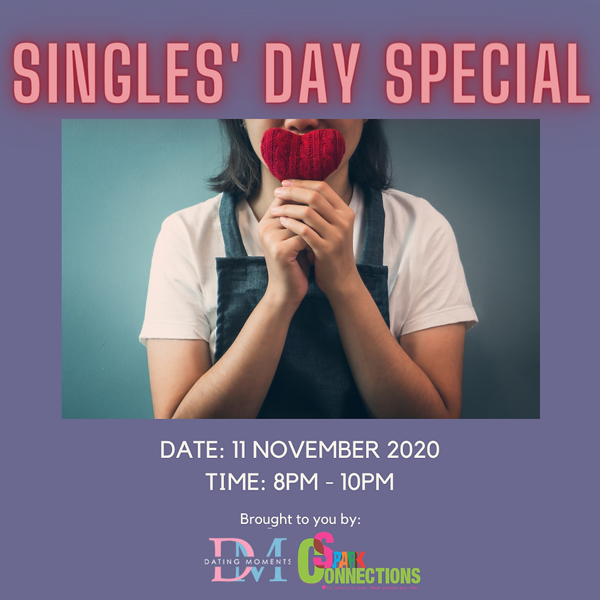 CALLING FOR GENTS! Singles' Day Special (50% OFF)