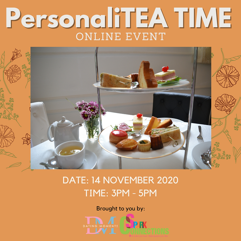 SOLD OUT! PersonaliTEA TIME (Online event) (50% OFF)