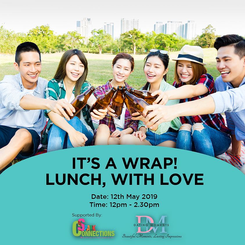 (CALLING FOR LADIES, GENTS FULL!) It's a Wrap! Lunch, with Love (50% OFF!)