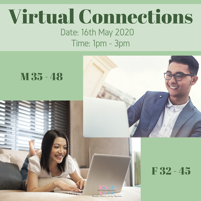 CALLING FOR GENTS! Virtual Speed-Dating Event (F 32 - 45, M 35 - 48)