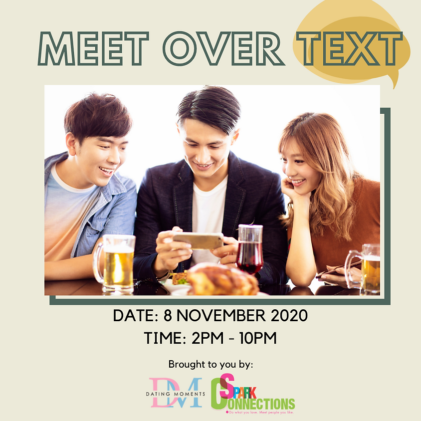 SOLD OUT! Meet over Text (50% OFF)